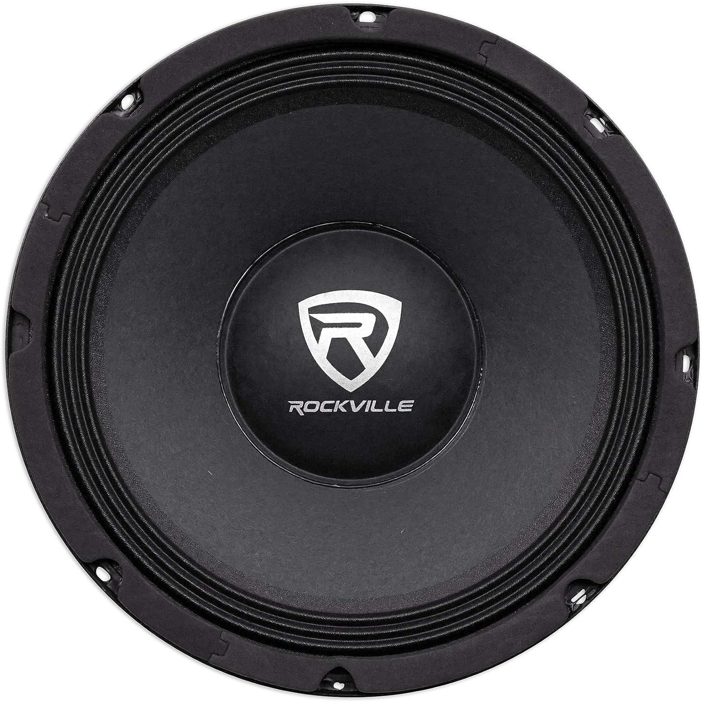 Rockville RM104PRO 600 Watt 10 inch Mid-Bass Pro Speaker