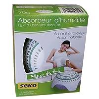 Seko Dome Mini Fleur de Thé Absorbeur + 1 Recharge senteur Fleur de thé Spécial petites pièces