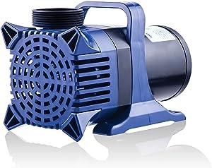 Alpine Corporation Alpine PAL4000 Pond Pump-4000 Fountains, Waterfalls, and Water Circulation 4000 GPH Cyclone Pump, Black and Blue