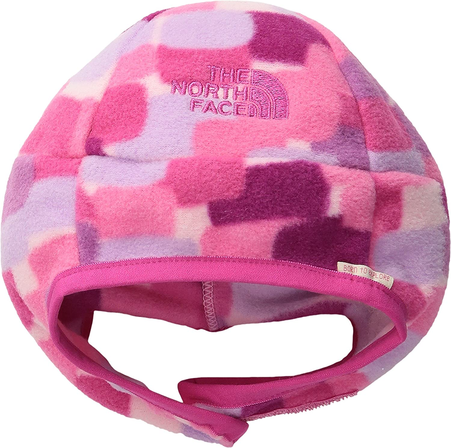 ae593f6b3 The North Face Kids Unisex Nugget Beanie (Infant) Cabaret Pink Pixel Print  Hat