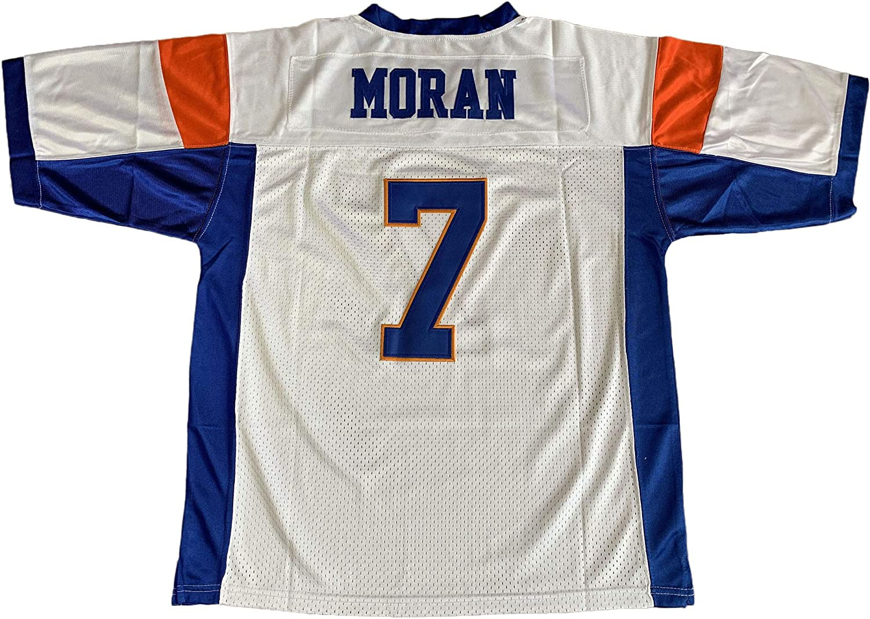 Blue Mountain State 7 Alex Moran Football Jersey Blue