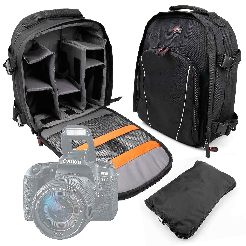 DURAGADGET - Mochila Acolchada para cámaras réflex Canon EOS 1200D ...