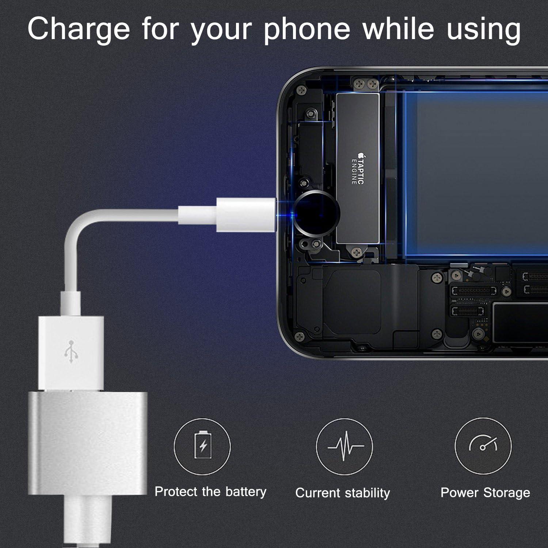 Venoro - Adaptador de Cable HDMI, 1080P Full HDTV Digital AV Adaptador para Espejo iPhone/iPad / Samsung Pantalla a TV/proyector por Miracast/AirPlay, Compatible con iOS y Android - Plug and Play: Amazon.es: