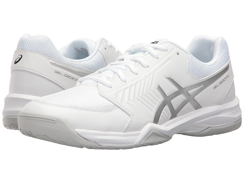 2019春の新作 [アシックス] メンズランニングシューズスニーカー靴 D Gel-Dedicate 5 [並行輸入品] B07H8FNDT4 ホワイト B07H8FNDT4/シルバー 6.5 [並行輸入品] (25cm) D - Medium 6.5 (25cm) D - Medium|ホワイト/シルバー, ヒラナイマチ:9e1da4f7 --- svecha37.ru