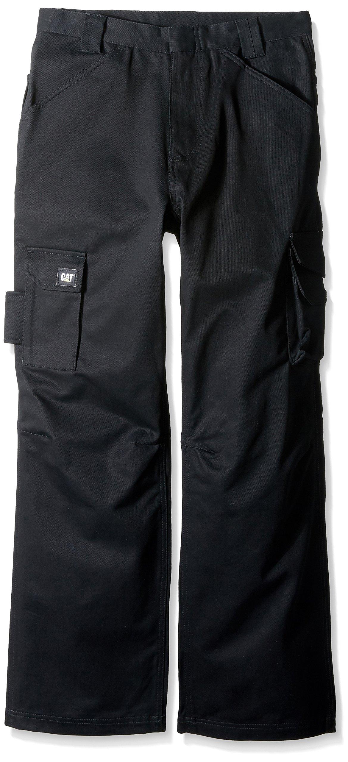 Caterpillar Flame Resistant Cargo Pant, Flame Resistant Black, 38W x 32L