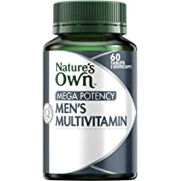 Nature's Own Mega Potency Men's Multivitamin - Packed With Vitamins, Minerals & Nutrients - Supports Immunity