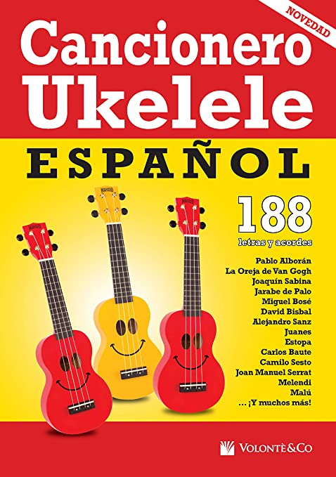 Cancionero Ukelele Espanol : Vari: Amazon.es: Música