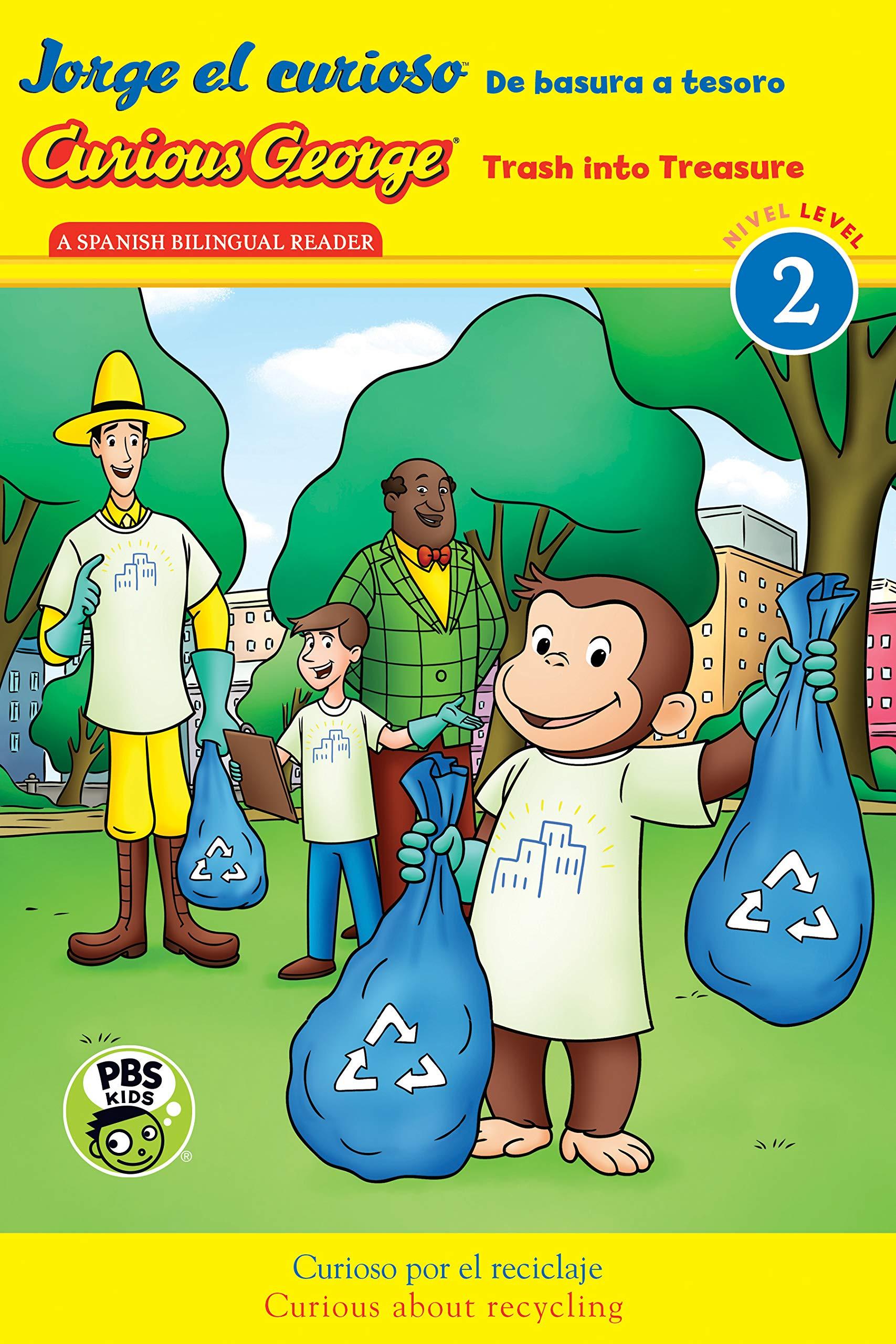Jorge El Curioso: de Basura a Tesoro / Curious George: Trash Into Treasure Cgtv Bilingual Reader: Amazon.es: Rey, H. A.: Libros en idiomas extranjeros