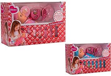 Amazon.es: Globo Toys Globo 37406 - Muñeca con Chupete (2 Colores ...