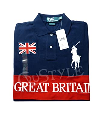 Shirt Ralph Big Lauren Britain Pony Great Polo Navy Large zMqSVpLUG