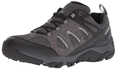Merrell Mens Outmost Vent Low Top Lace Up Walking Shoes  Amazon.co ... e1bf942387
