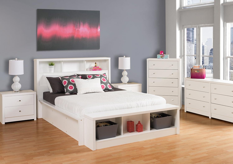Prepac Calla 6-Drawer Dresser White
