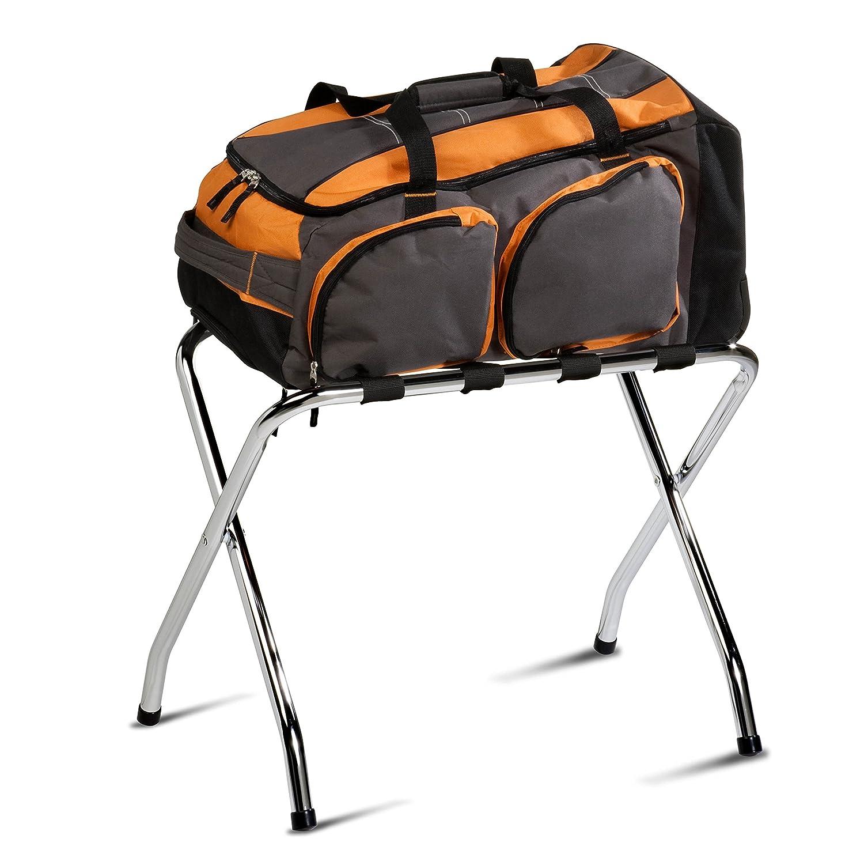 Honey-Can-Do TBL-01817 Chrome Luggage Rack