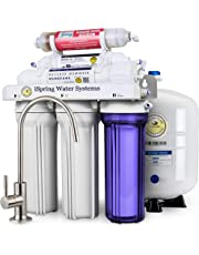 iSpring 75GPD 6-Stage Reverse Osmosis Alkaline Mineral Water Filter System
