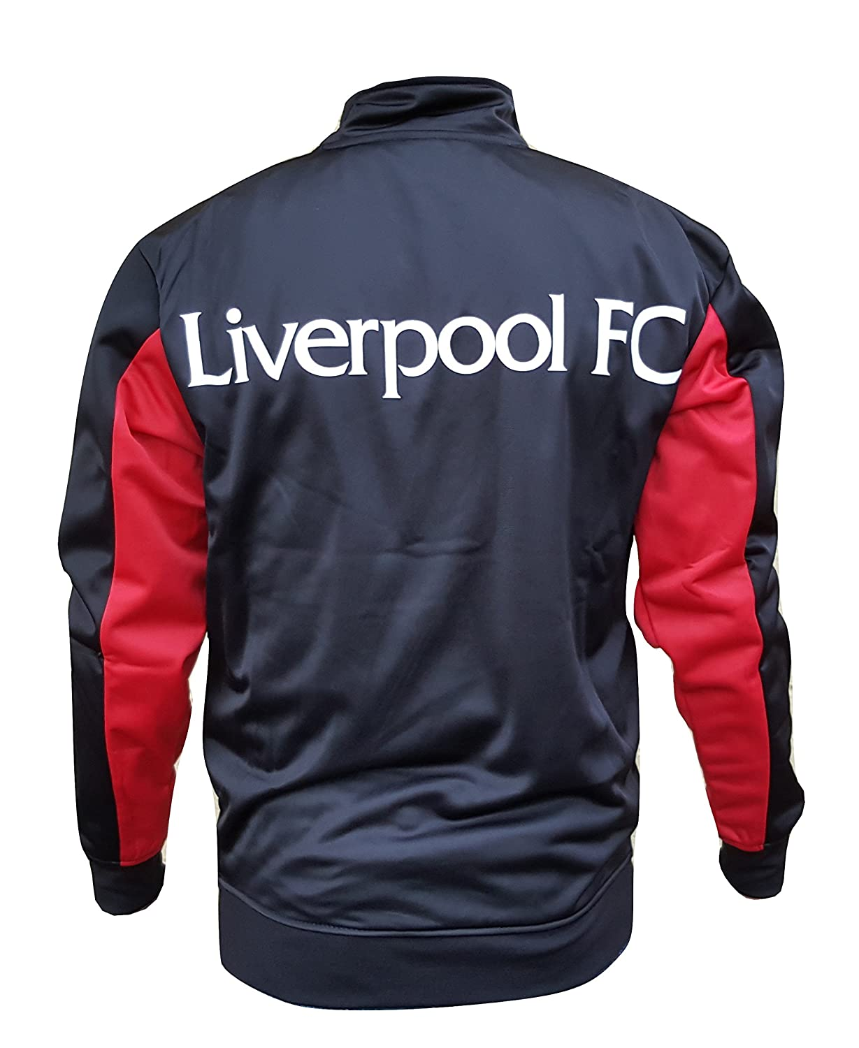 Liverpool FC Adult Track Jacket Warm Up Soccer Soccer Football
