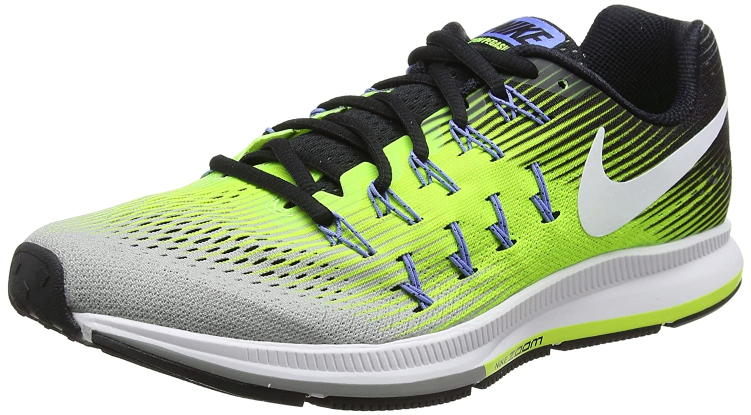 Nike Men's Air Zoom Pegasus 33 B01H2ME2U2 9.5 D(M) US|Matte Silver/White-volt-black