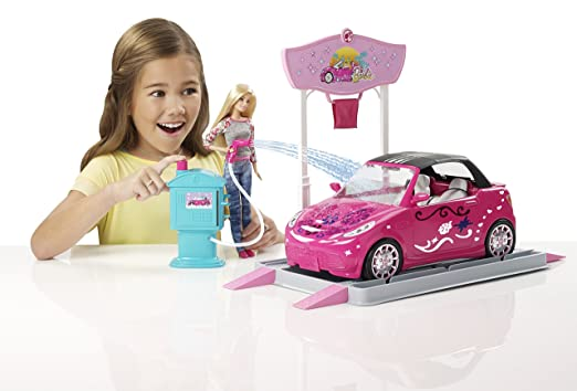 buy barbie convertible car online at low prices in india amazonin