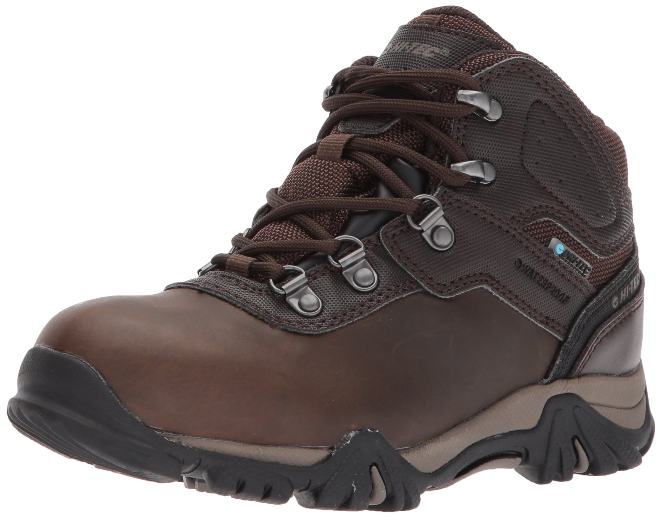 Hi-Tec Unisex Altitude VI Jr Waterproof Hiking Boot, Dark Chocolate, 2 Medium US Little Kid