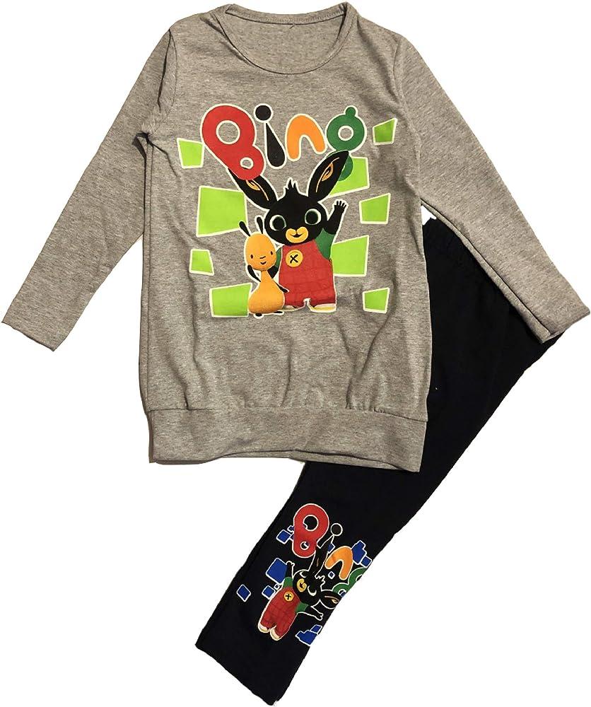 Bing - Legging + Camiseta con diseño de Conejo, Talla 2 3 4 5 6 7 ...