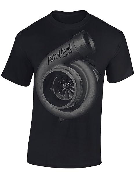 Petrolhead: Turbocharger supercargador - Camiseta Motor - Regalo Hombre - T-Shirt Racing -