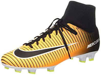 promo code c7faa c40b2 Nike Mercurial Victory Vi Df Fg, Men s Footbal Shoes, Orange (Laser Orange