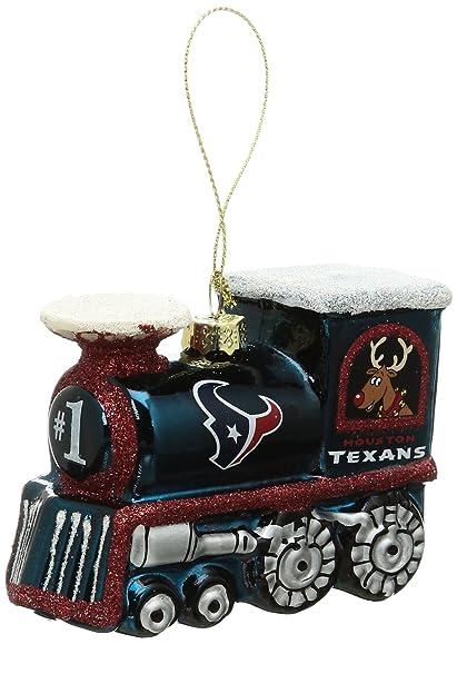 65d4576cbc0 Image Unavailable. Image not available for. Color  Boelter Brands NFL  Houston Texans Train Ornament