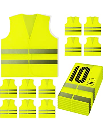 Safety Clothing Reflective Vest Sanitation Building Construction Mesh Vest For Fast Shipping Security & Protection