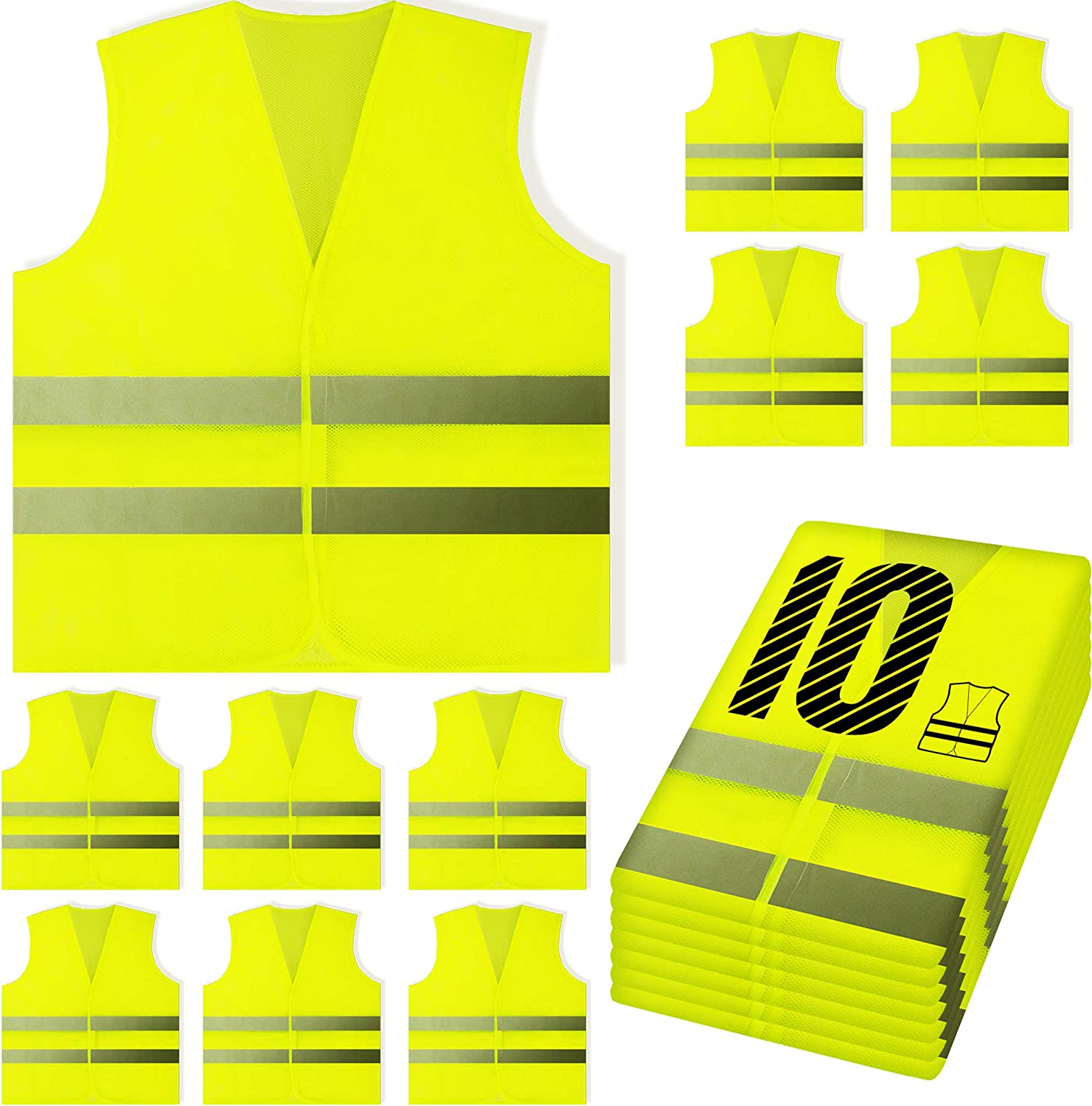 Result Safeguard Womens Safety Vest Safety Vest All Sizes and Colours