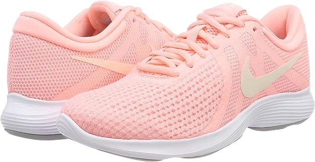 Nike Wmns Revolution 4, Zapatillas de Running para Mujer, Rosa (Pink Tint/Guava Ice/Oracle Pin 602), 36 EU: Amazon.es: Zapatos y complementos