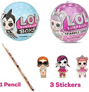 Amazon.es: LOL Surprises Sparkle Series & Boys Series 2 Pack ...