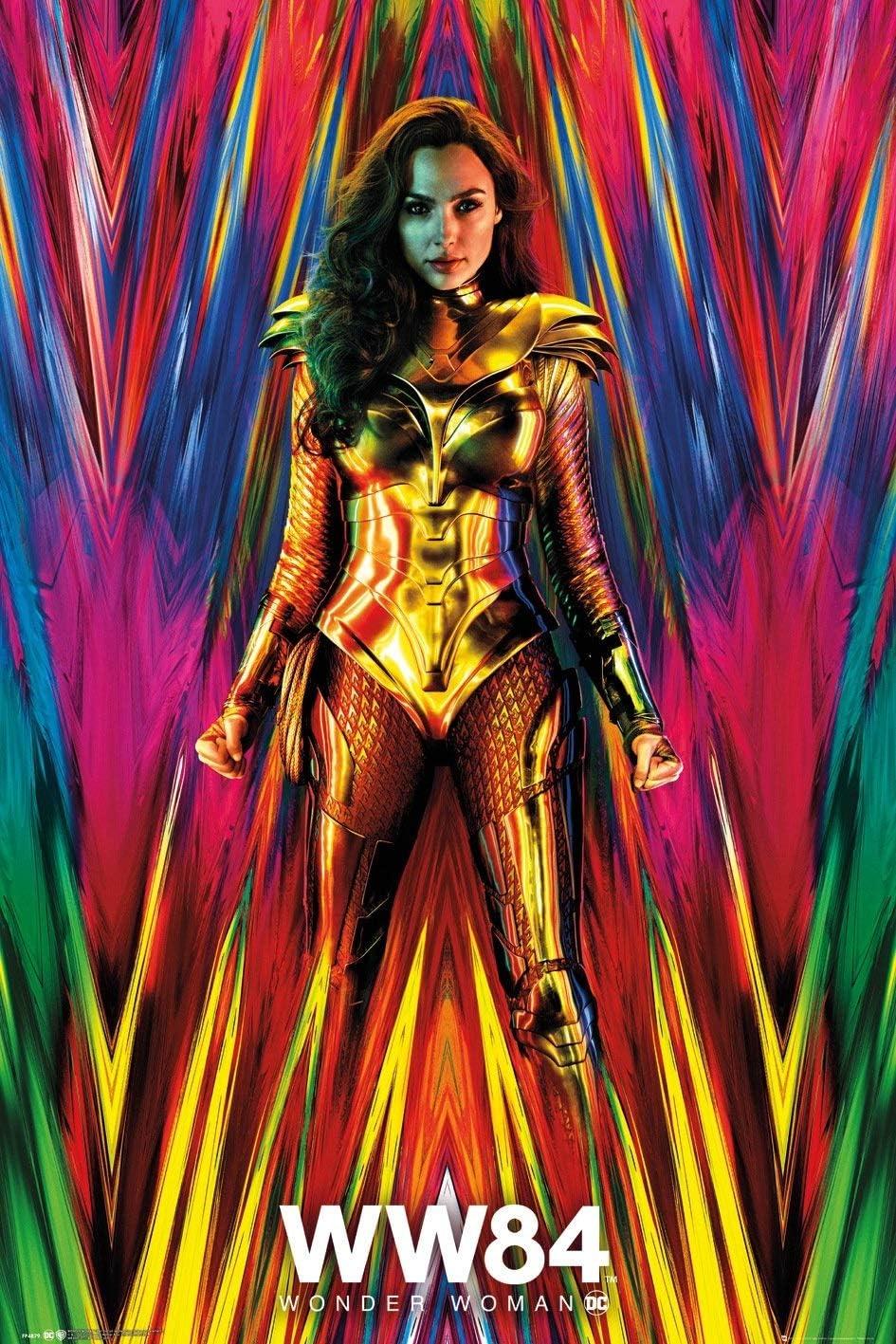 "Wonder Woman 1984 WW84 Poster Gal Gadot Chris Pine Movie DC Comics  24x36/"" U"
