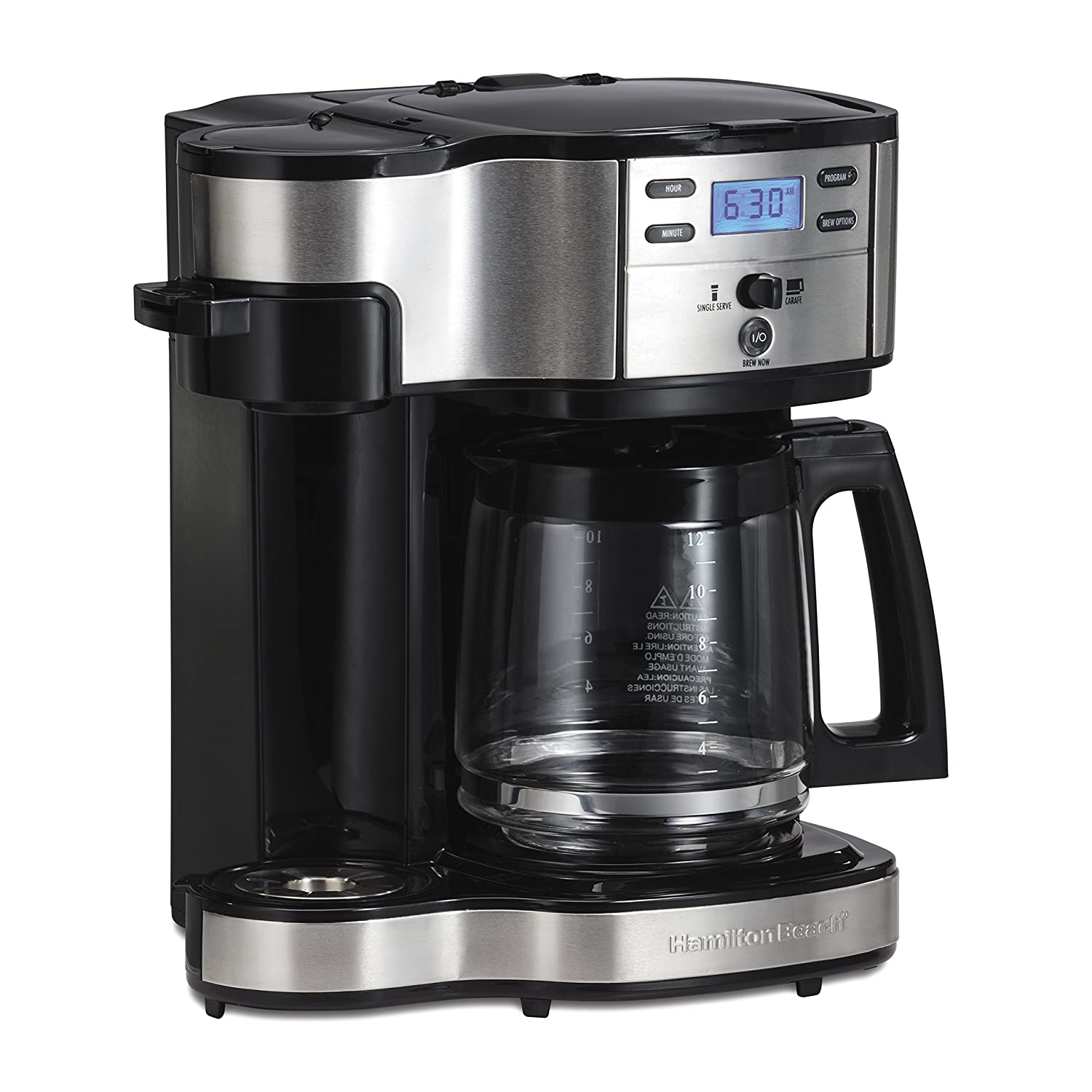 Amazoncom Hamilton Beach 49980a Coffee Maker Single Serve Black