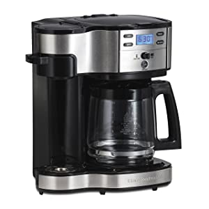 Hamilton Beach 49980A Coffee Maker Single Serve Black/Stainless Steel