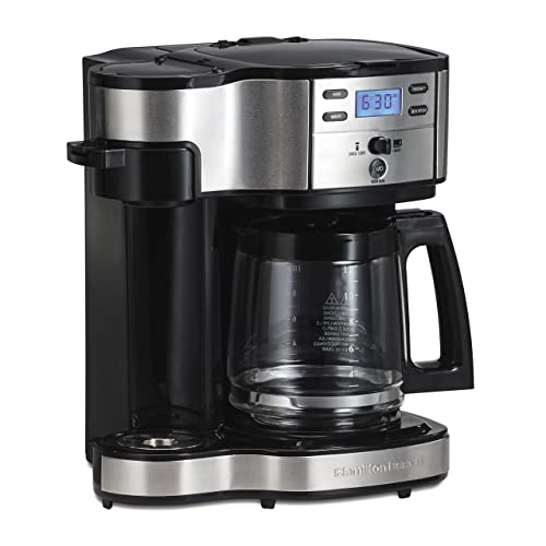 Hamilton Beach (49980A) Single Serve Coffee Maker and Coffee Pot Maker