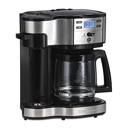 Hamilton Beach 49980A Single Serve Coffee Maker And Pot Programmable