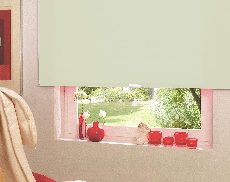 Springrollo Mittelzugrollo Schnapprollo Fenster Rollo Vorhang 16 Farben Farben Farben Breite 62-242 cm Höhe 160 und 230 cm blickdicht lichtdurchlässig Sonnenschutz Sichtschutz Blendschutz (182 x 160 cm Mocca) B079R9XS4F Seitenzug- & Springrollos 808e01