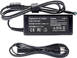 45W AC Adapter HP Envy X360 13 14 15 Stream X360 14 11 HP Laptop Charger Replacement Envy 13-y013cl 13-y023cl 15-u010dx 15-u110dx Stream 14-ax010wm 14-ax020wm 11-v020wm 11-d010wm Power Cord Supply