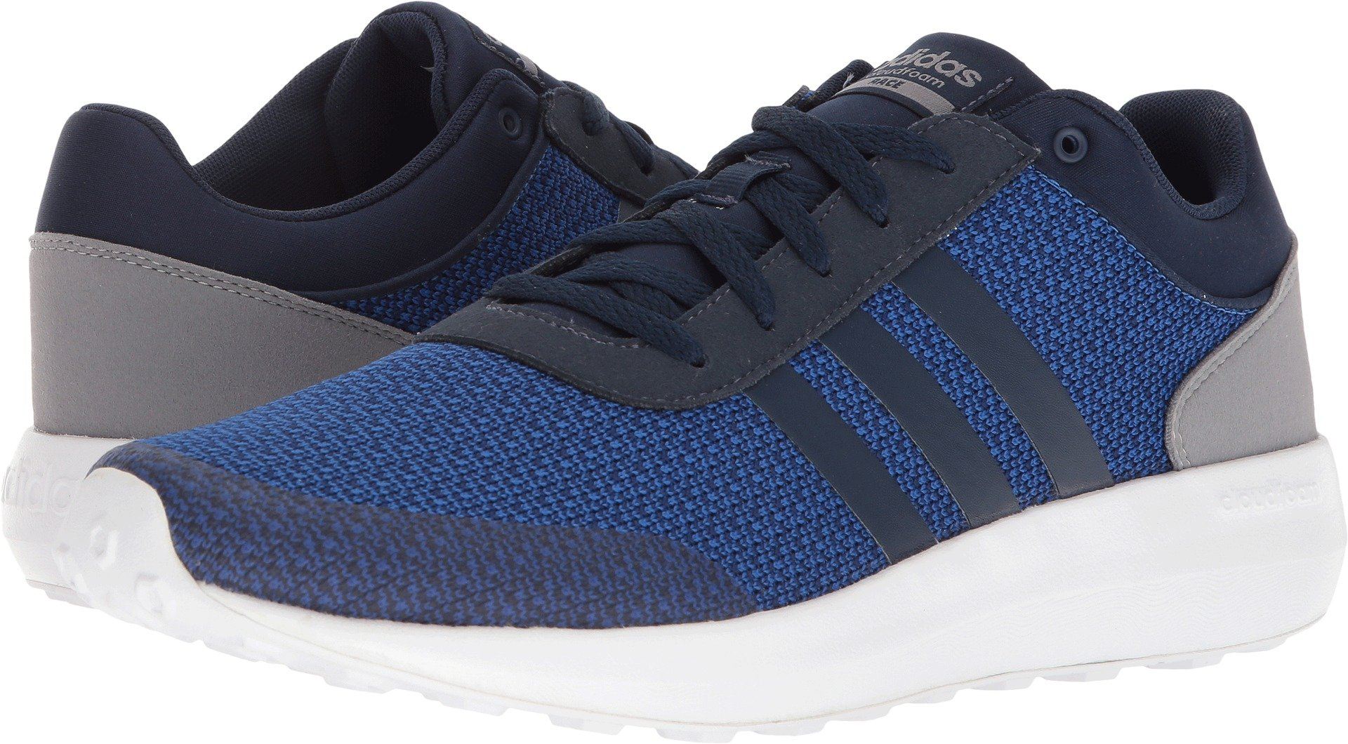 adidas Men's Cloudfoam Race Collegiate Navy/Collegiate Navy/Royal 10.5 D US by adidas