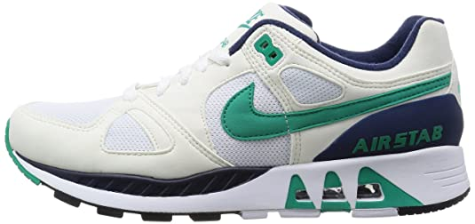 2bf8a239d71f Nike Air Stab (White Sail Midnight Navy Emerald Green) (US 11.0   EU 45.0)   Amazon.co.uk  Shoes   Bags