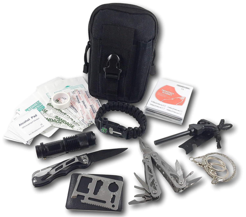 Felbridge Green Kit de Survie durgence et Multi Outils
