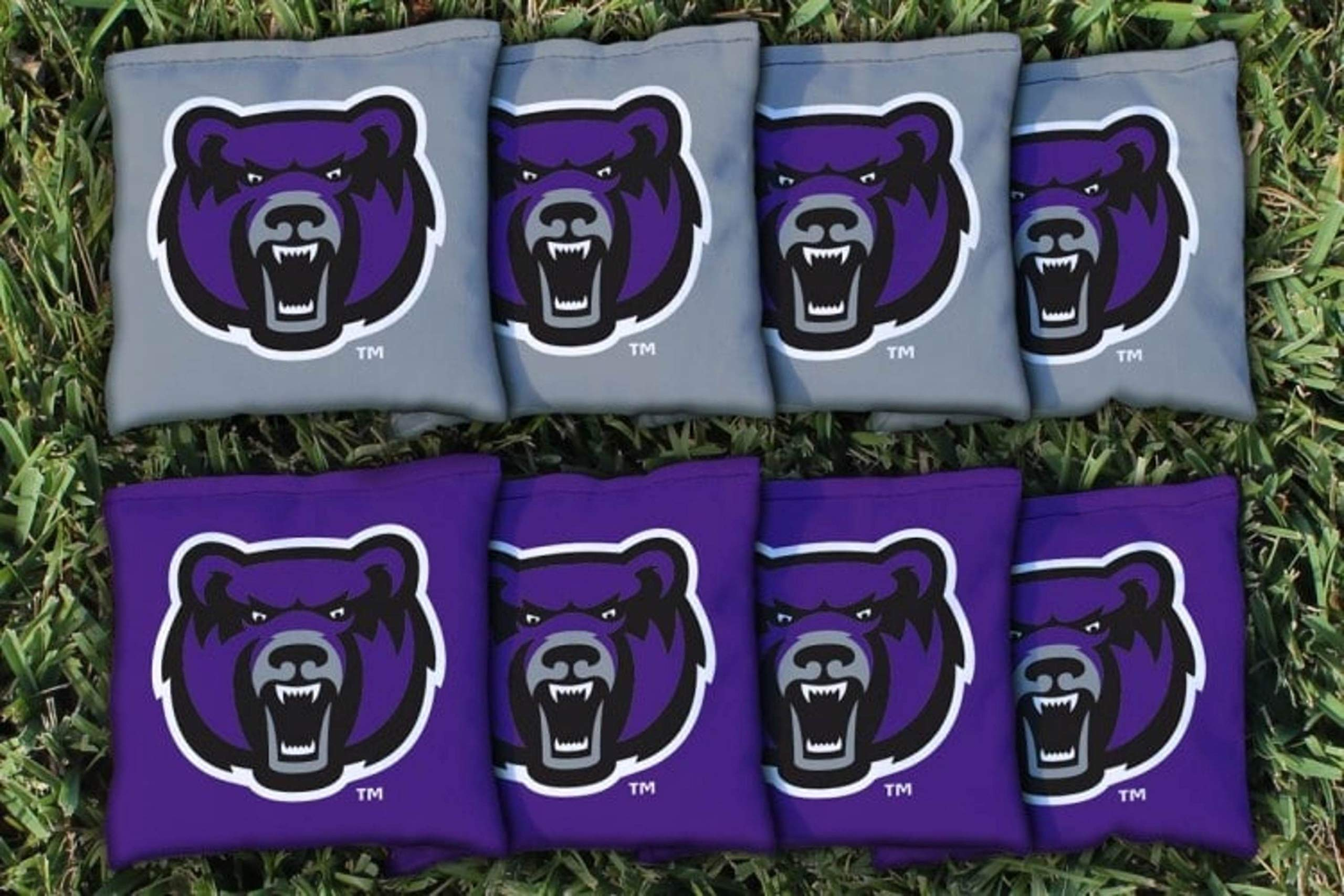 Victory Tailgate NCAA Collegiate Regulation Cornhole Game Bag Set (8 Bags Included, Corn-Filled) - Central Arkansas Bears by Victory Tailgate