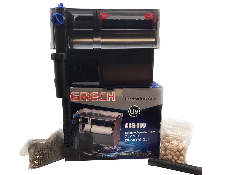 in vendita Filtro a zainetto, zainetto, zainetto, capacità 800 l h + funzione UV  esclusivo