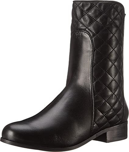 Womens Boots Vaneli Reedy Black Nappa/Black Quilted Nappa