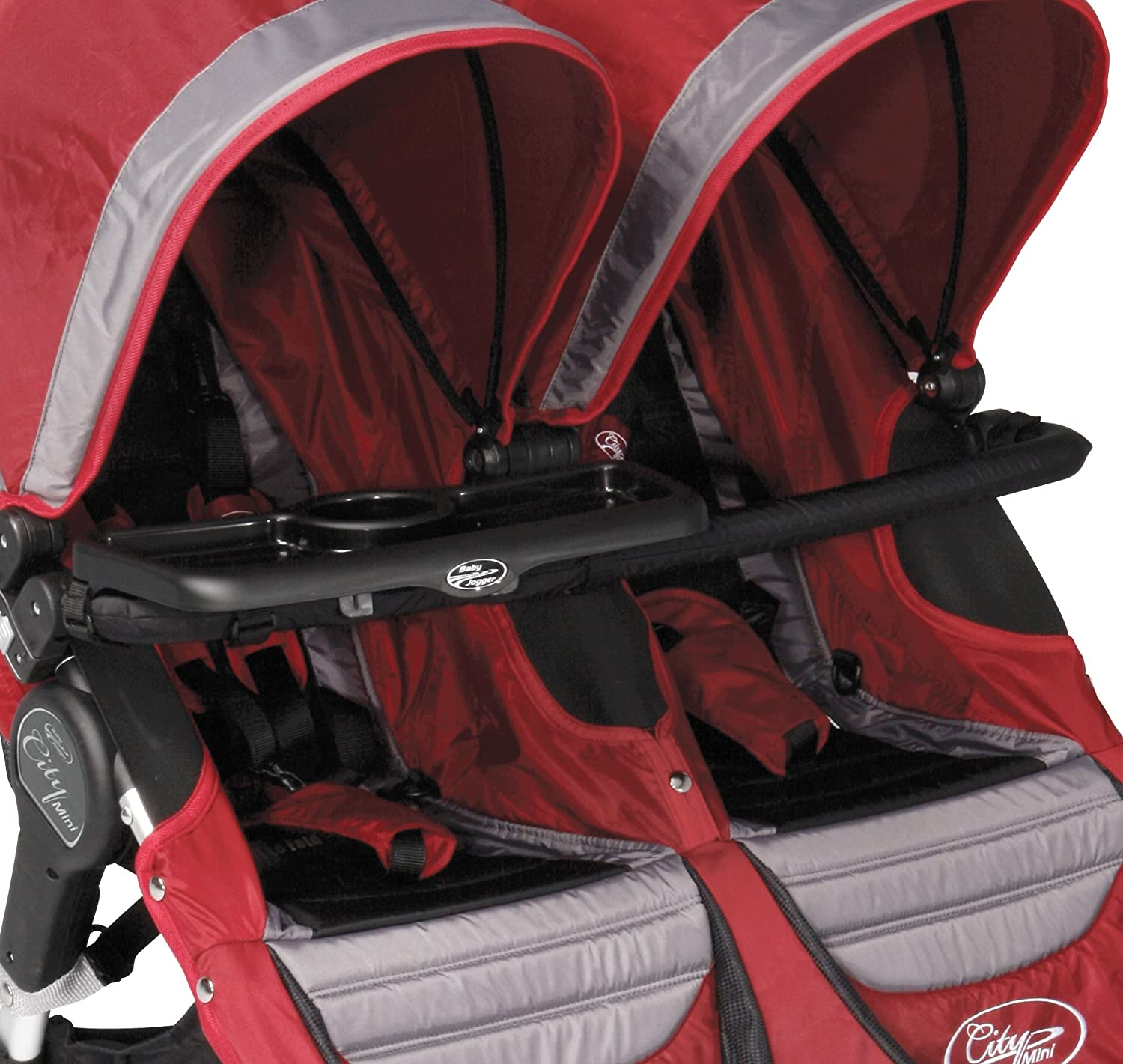 Baby Jogger City Double Stroller and Summit J7G60 Children's Tray, Black MOLEO Sp.z o.o.