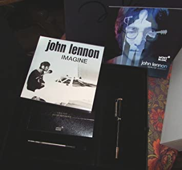 Amazon.com : Montblanc John Lennon Special Edition Resin ...