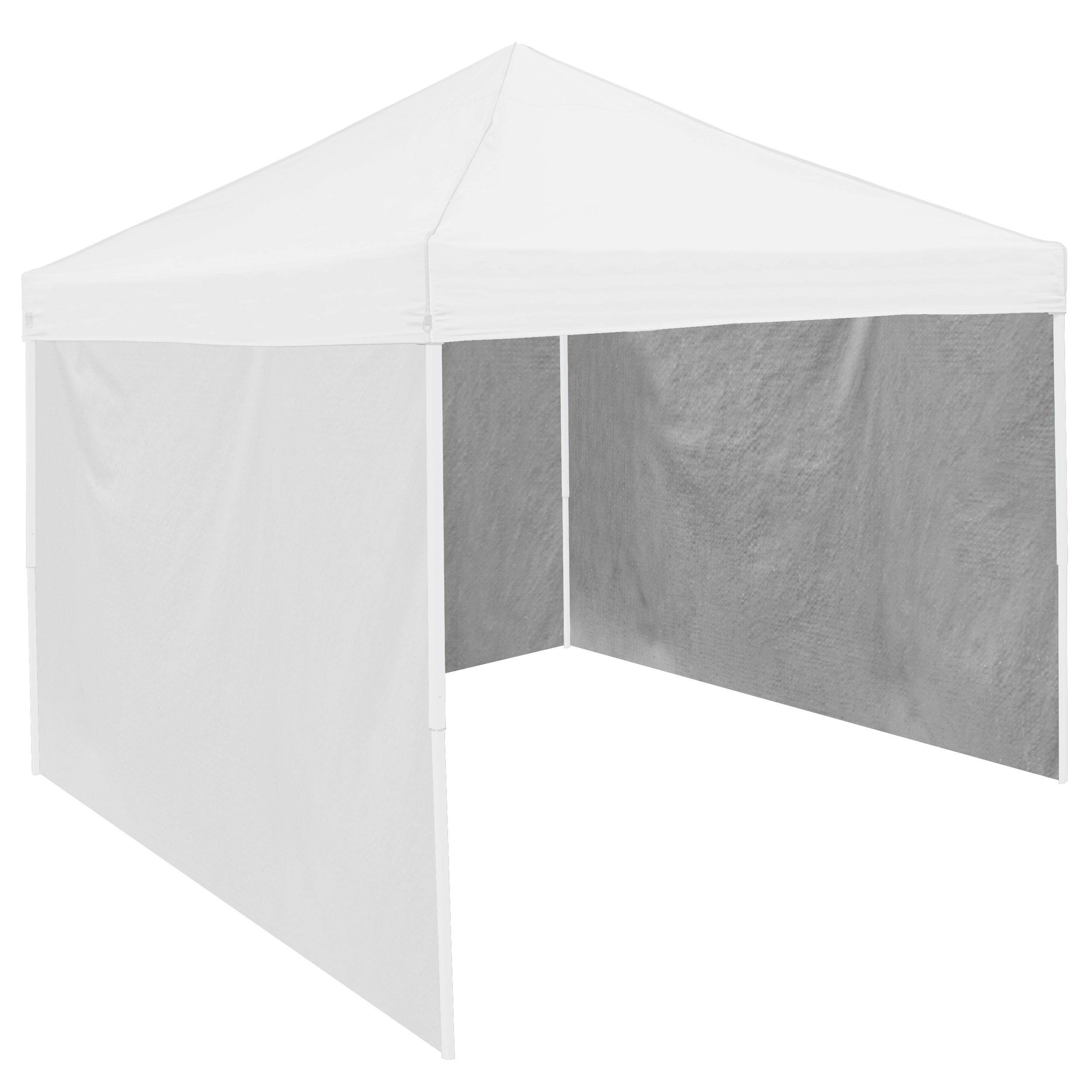 NCAA Adult Side Panel, 9 x 6', White by Logo Brands