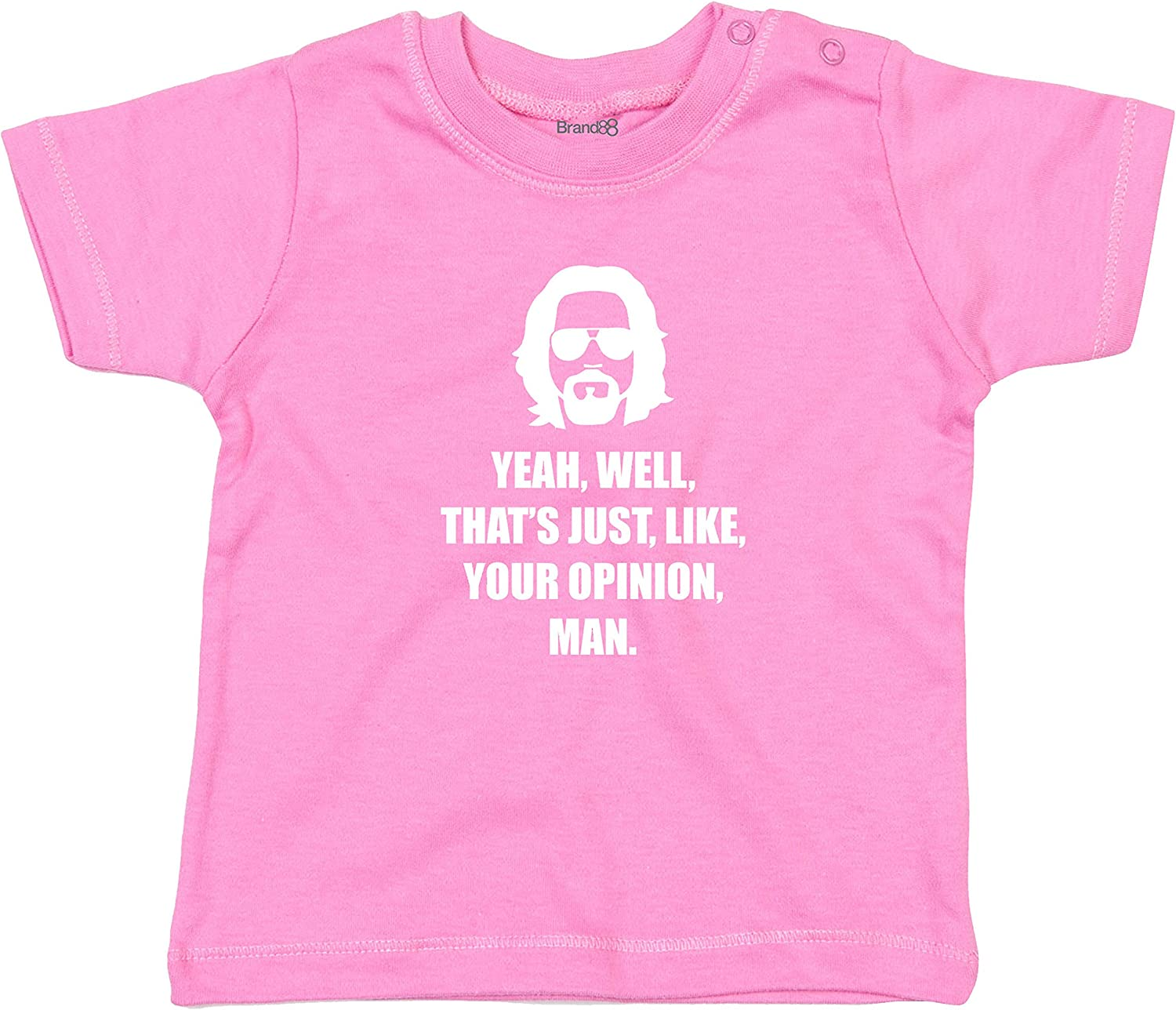 Baby T-Shirt Brand88 Man Your Opinion