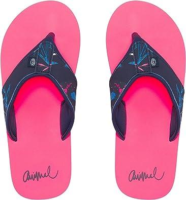 Animal Swish Upper AOP Ladies Flip Flop FM9SQ307 x47 Sandals