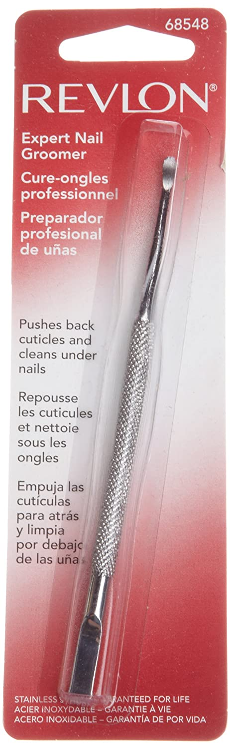 Amazon.com : Revlon Stainless Steel Nail Groomer : Manicure Tools ...