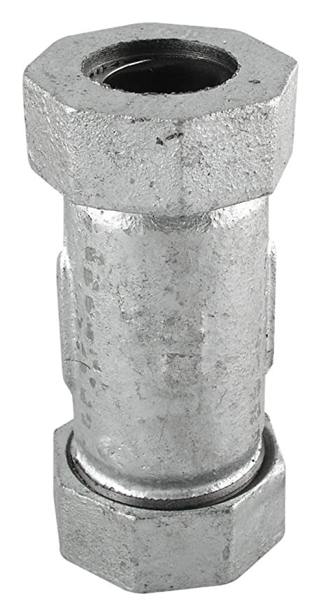 LDR 311 CCL-12 Galvanized Compression Coupling 1/2-Inch - Pipe ...